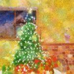 Code no.39 牡牛座9度 飾られたクリスマスツリー