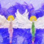Code no.153  乙女座3度 保護をもたらす2人の天使