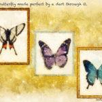 Code no.181 天秤座1度 突き通す針により完璧にされた蝶