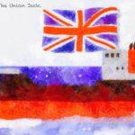 Code no.288 山羊座18度 イギリスの国旗