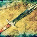 Code.no 343 魚座13度  博物館にある刀