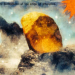 Code.no 125  獅子座5度  絶壁の端にある岩の塊
