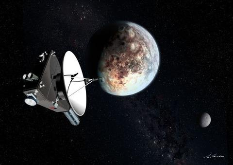 七夕の夜と冥王星とニューホライズンズ