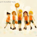 Code no.171 乙女座21度 少女のバスケットボールチーム