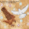 Code no.206 天秤座26度 互いに入れ替わる鷹と大きな白い鳩