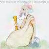Code no.210 天秤座30度 哲学者の頭にある3つの知識のこぶ