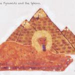 Code no.254 射手座14度 ピラミッドとスフィンクス