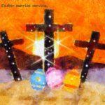 Code no.257 射手座17度 復活祭の日の出の礼拝