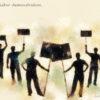Code no.81 双子座21度 労働者のデモ