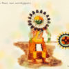 Code.no 140  獅子座20度  ズーニー族の太陽の崇拝者